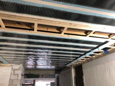 Infrarood plafond folie verwarming winkel Maastricht