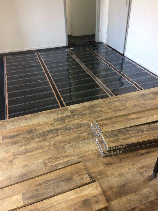 Infrarood vloerfolie kantoor Alkmaar
